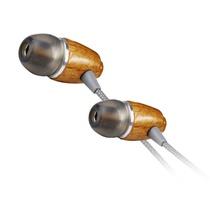 威运高(Vivanco)27106 耳机 入耳式耳机 木质耳机(内置式  樱桃木 纯手工 线长1.2米)