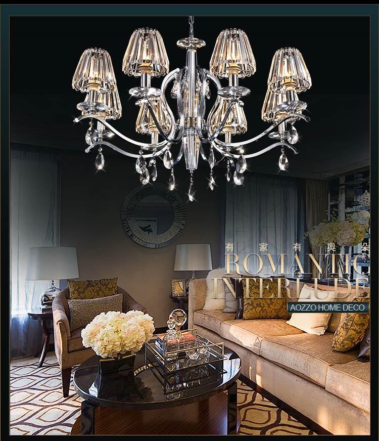 欧式吊灯奢华水晶灯客厅灯餐厅灯卧室灯饰灯具10240