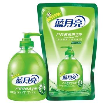 蓝月亮芦荟抑菌洗手液500g/瓶