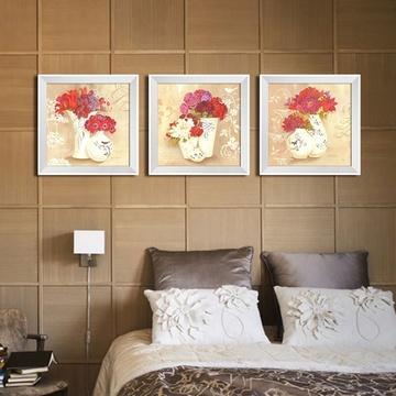 现代客厅装饰画 美克美家壁画 卧室挂画 暖阳花房(30*