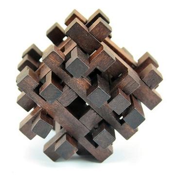 熙悦 智力玩具 孔明锁 智力解锁双十字笼子