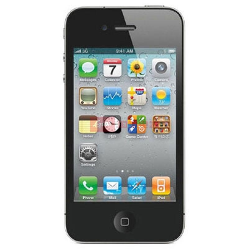 苹果(apple) iphone 4 手机8g wcdma/gsm(黑色 官方标配)