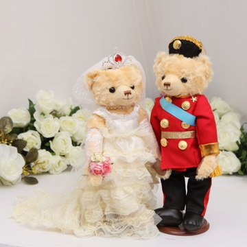 压床娃娃婚纱熊_婚纱熊 情侣熊 压床娃娃 结婚礼品熊 情侣熊