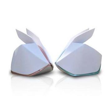 【全国】幻响(i-mu)折纸兔 共振音响 便携迷你电脑苹果笔记本音响