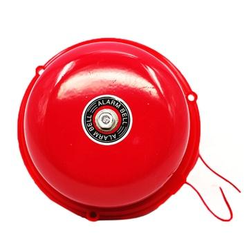 消防警铃/火灾警报铃/车间厂房应急电铃报警器(圆形)