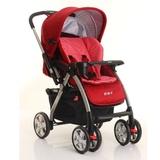 好孩子婴儿推车可躺可坐 折叠双向全篷宝宝儿童推车 C760(红色K475)