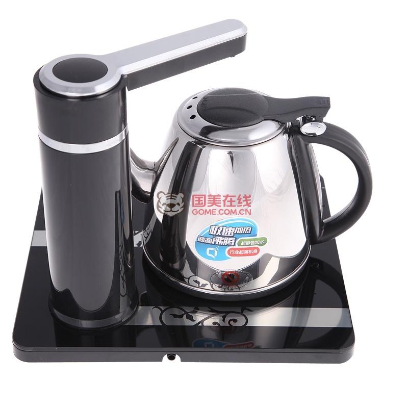 欧博(opo)电水壶fx12-s109电子茶盘自动上水电热水壶