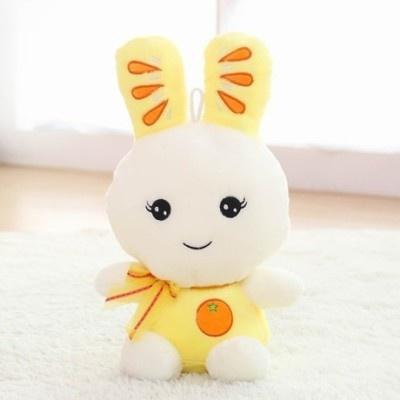 可爱 兔子 公仔 兔兔 布娃娃 毛绒玩具 生日礼物(橙子