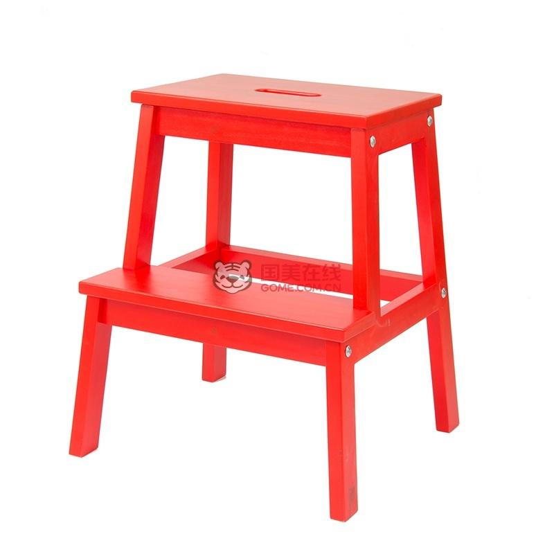 红色阶梯ppt素材