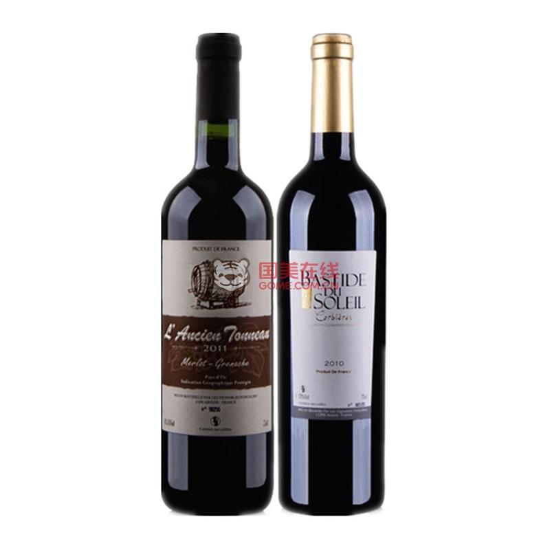 【法国红酒客干红葡萄酒】法国南部*性价组:老木桶