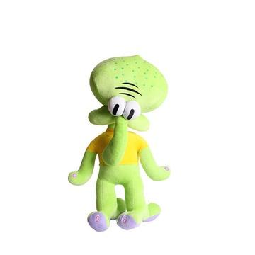 海绵宝宝派大星蟹老板章鱼哥毛绒玩具抱枕(蟹老板)