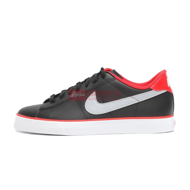NIKE耐克男鞋专柜正品SWEET CLASSIC板鞋休闲鞋文化鞋318333(318333-038/黑红 41)