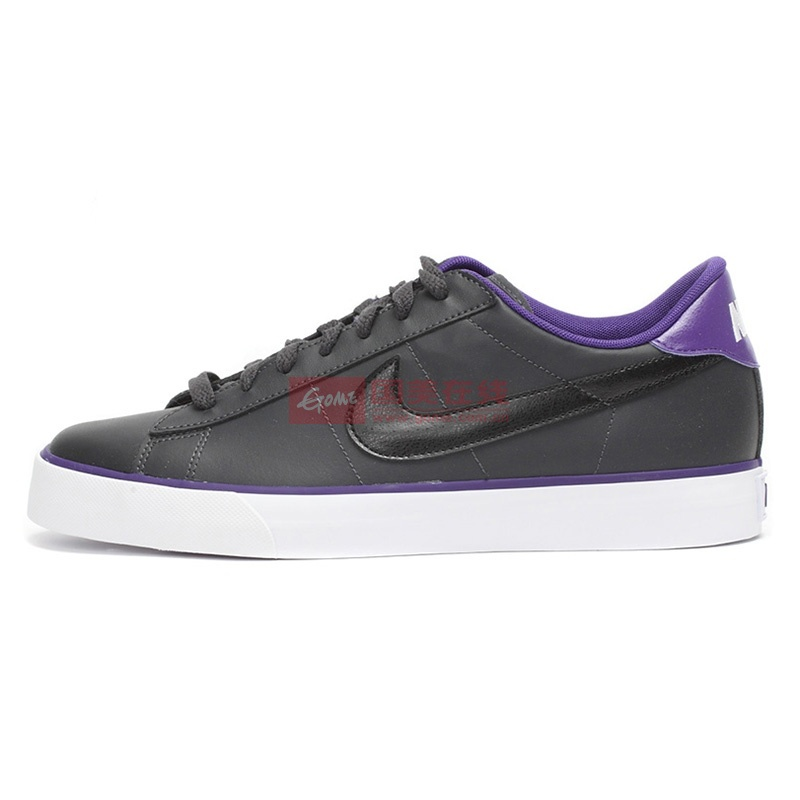 NIKE耐克男鞋专柜正品SWEET CLASSIC板鞋休闲鞋文化鞋318333(318333-096/黑紫 43)
