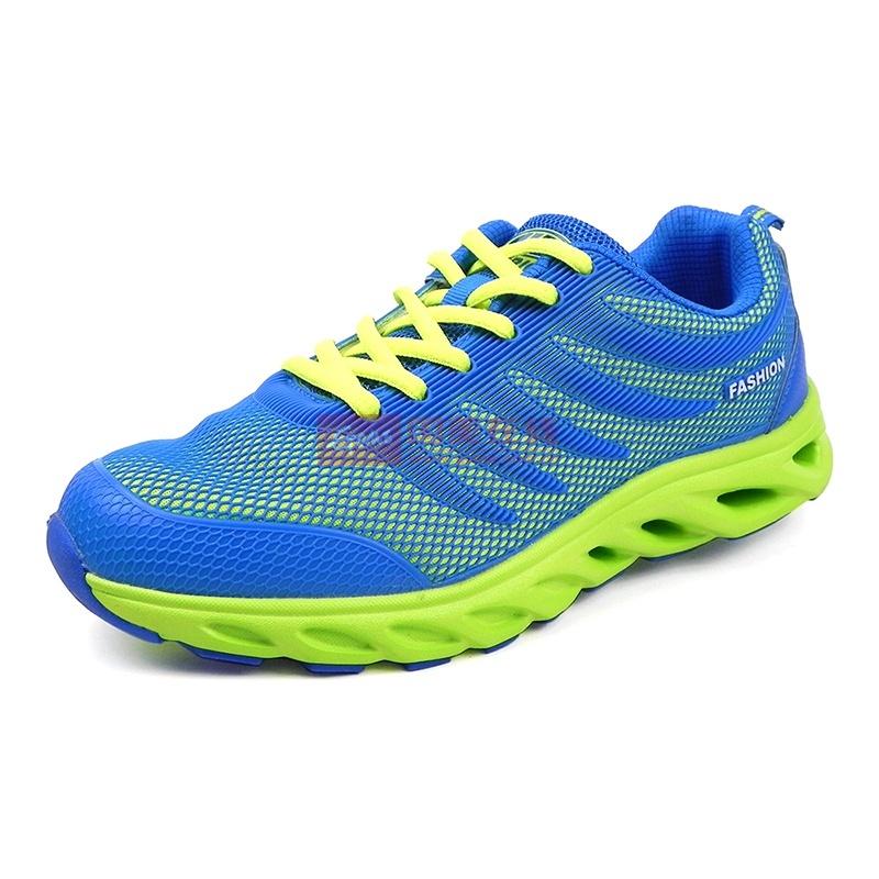 回力 新款男士时尚炫色超轻跑步鞋 气垫运动休闲鞋 WL3198(天兰 39)