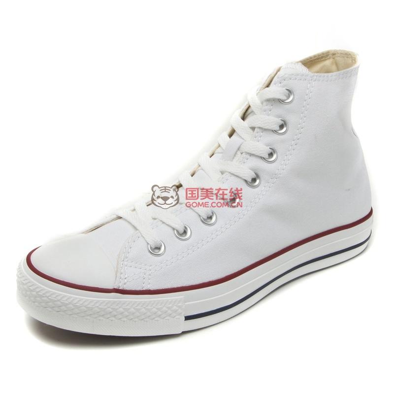 Converse匡威男鞋女鞋专柜正品 经典款高帮帆布鞋男101009 休闲鞋(101009 36.5)