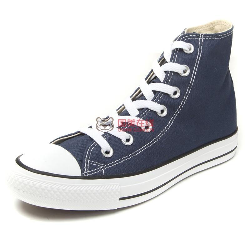 Converse匡威男鞋女鞋专柜正品 经典款高帮帆布鞋男101009 休闲鞋(102307 37)