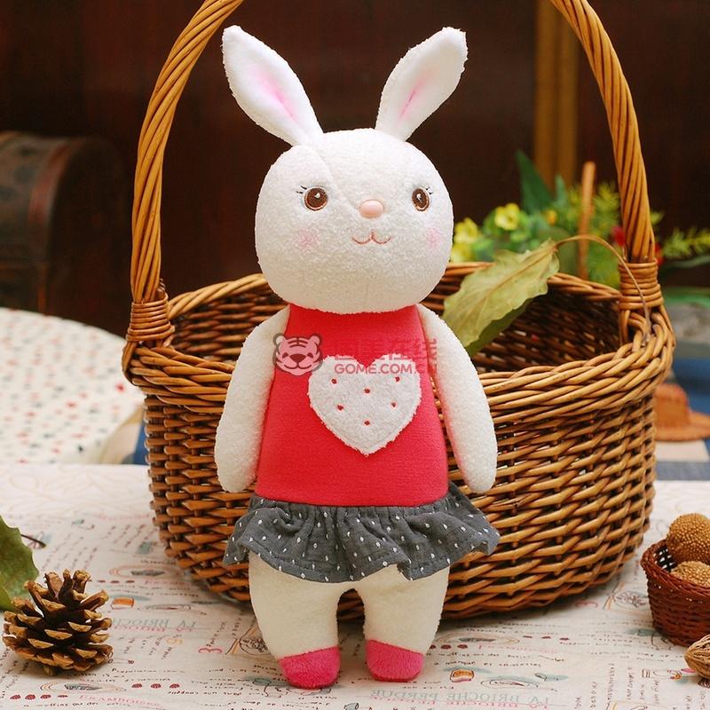 淘气郎 可爱提拉米兔公仔玩偶(爱心兔)
