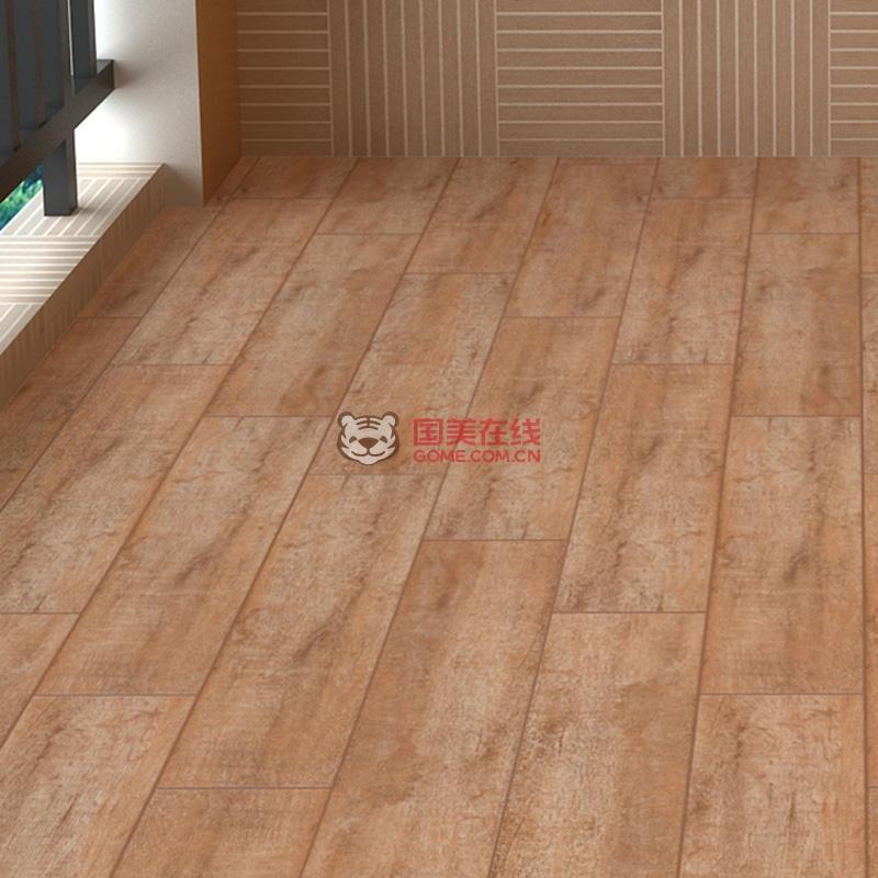 【图】楼兰瓷砖 地面砖木地板木纹砖仿木地砖卧室