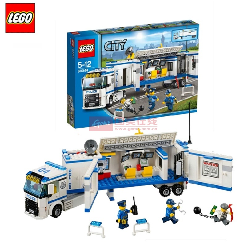 乐高lego *积木 城市系列 流动警署 l60044 专柜*