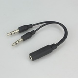 耳机孔一分二四节转换器