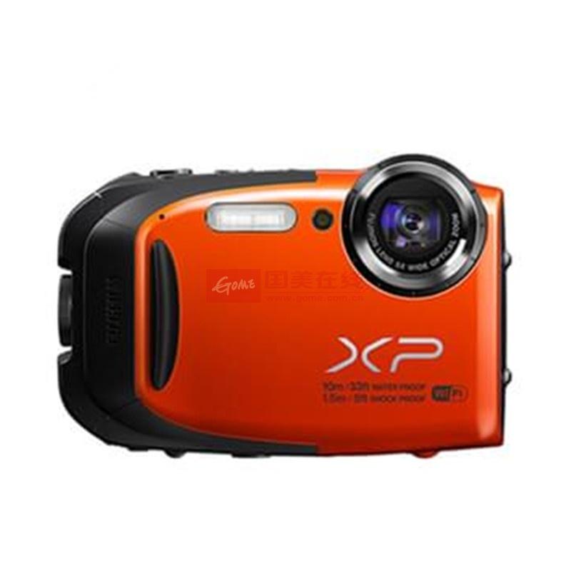 【富士xp-70数码相机橙色】富士(fujifilm) xp70 蓝色