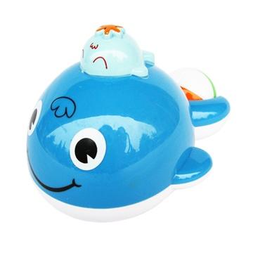 鲸鱼洗澡简笔画图片