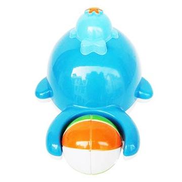 比爱 喷水小鲸鱼 婴儿戏水玩具 宝宝洗澡玩具 自动喷水