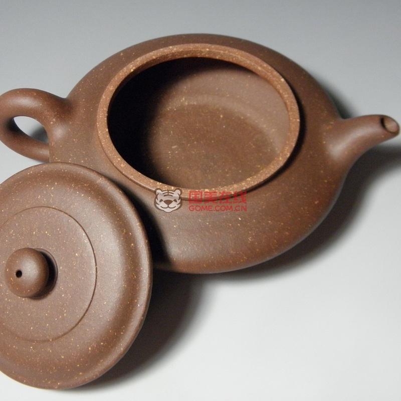 正宗宜兴紫砂壶,原矿紫砂泥,全手工制作 宜兴制壶大师亲手打造 -- 水