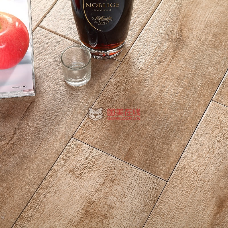 楼兰瓷砖 地面砖木地板木纹砖600 150仿木地砖卧室地板砖田园风格防滑