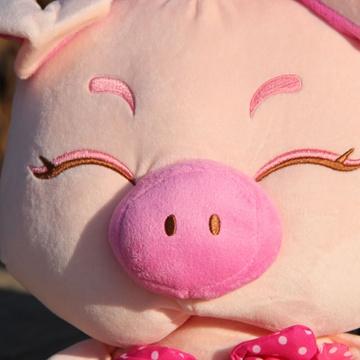 可爱麦兜猪 毛绒玩具公仔