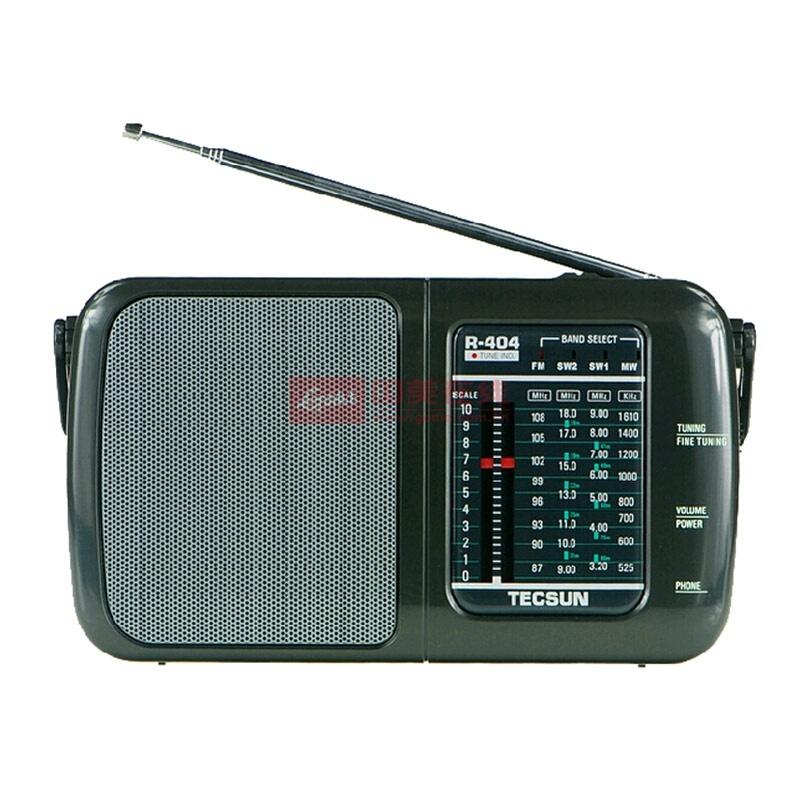 德生(tecsun)r-404 全波段便携收音机
