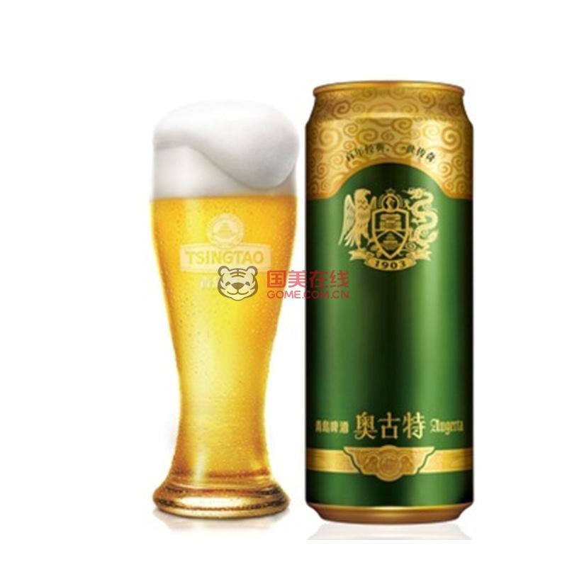 青岛啤酒(tsingtao)奥古特12度500ml*8听