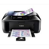 佳能(Canon) E618 经济彩色喷墨传真一体机(打印 复印 扫描 传真)2年保修  黑色墨盒打印量高达80