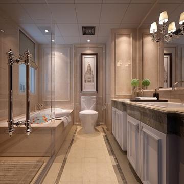东易日盛 南通店 别墅装修设计 室内家庭装修 中式风格装修效果图