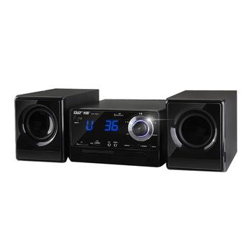 先科(sast )pm12床头手机蓝牙组合音响dvd多媒体cd功放机胎教音箱