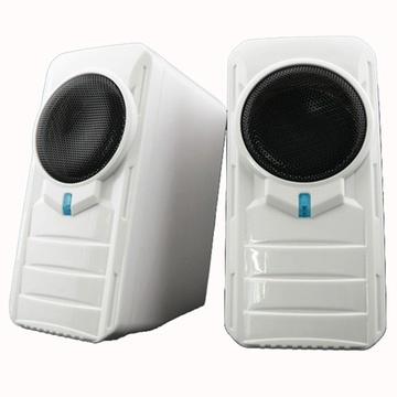 索威科(svo&ice)b2电脑桌面音箱 usb供电 超迷你立体声系统 中音清晰