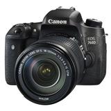佳能(Canon)EOS 760D单反套机(EF-S 18-135mm f/3.5-5.6 IS STM镜头)(黑色 套餐一)