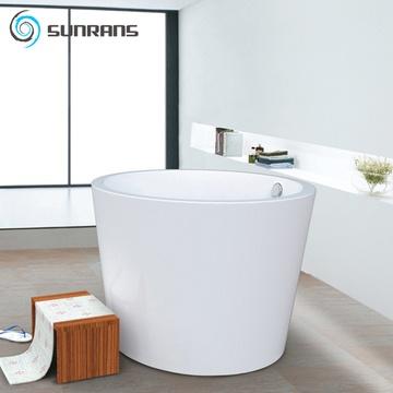 尚雷仕独立式圆形贵妃浴缸欧式亚克力成人保温浴池
