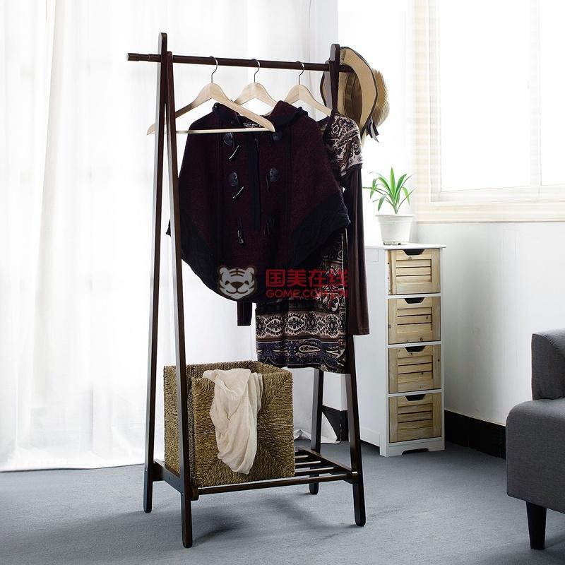 欧式衣帽架落地折叠挂衣架简易室内卧室衣架