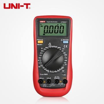 优利德 数字万用表ut890c 背光数显6000uf电容 温度 显示5999