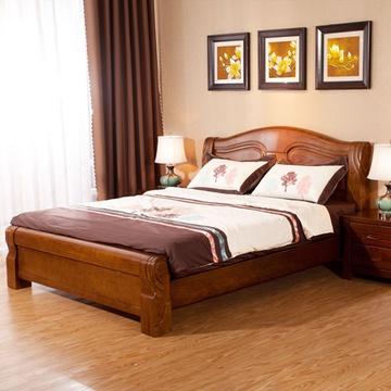 实木床 1.8米价格/图片