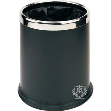 南方圆形垃圾桶创意家用不锈钢垃圾筒厨房无盖酒店