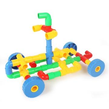 幼儿园自制管道玩具