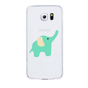 三星s6手机壳 s6手机套 g9200保护套卡通可爱硅胶超薄