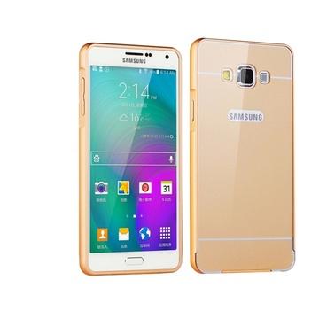 三星a8手机壳a8金属边框后盖sm-a8000手机套防摔保护
