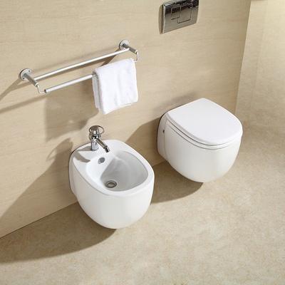 大卫伯爵卫浴小空间壁挂式马桶墙排座便器嵌入式马桶