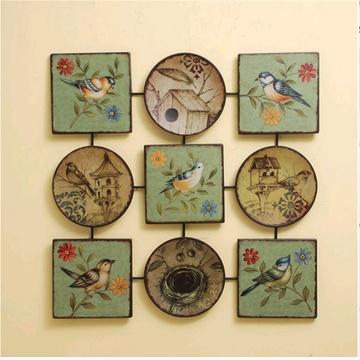 欧式复古创意家居挂画墙饰墙面挂件客厅玄关装饰画