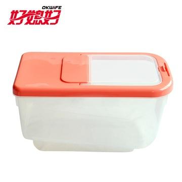 好媳妇米箱 10公斤保鲜防虫米桶 塑料储米箱 配1量杯