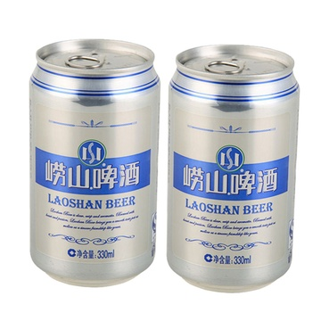 青岛啤酒 崂山啤酒小罐330ml*2听