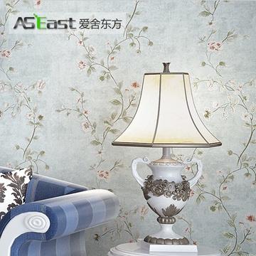 360美式花型墙纸贴图